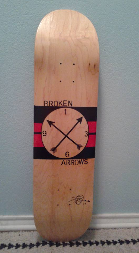 Skate art, Broken Arrows